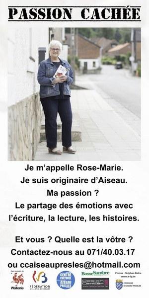 bâche Rose Marie