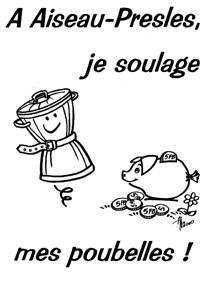 Logo environnement poubelle